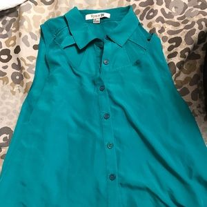 Forever 21 real blue top!